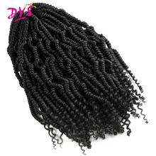 Deyngs Fluffy Passion Spring Twist Hair Synthetic Crotchet Hair