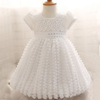Top Quality Kid Girl Wedding Dress Baby Clothing Brand Ceremonies Party Dresses Girls Clothes Costumes Children Christening Gown
