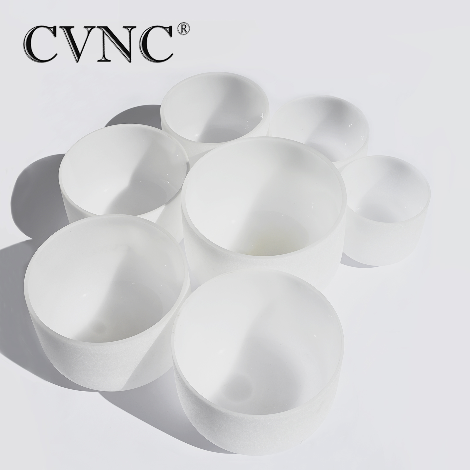 CVNC Chakra Tuned Set of 7pcs 8 14 Note A C D F G A C