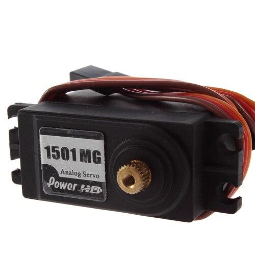Мощность HD HD-1501MG 17 кг металлическая передача сервопривод Быстрая