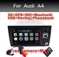 2din Car DVD GSP Навигация для Audi A4 GPS (2002-2008) Audi S4/RS4/8E/8F/B9/B7 С Bluetooth Gps-радио RDS Canbus Карта