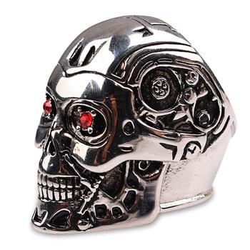 Кольцо Терминатор металлическое 1