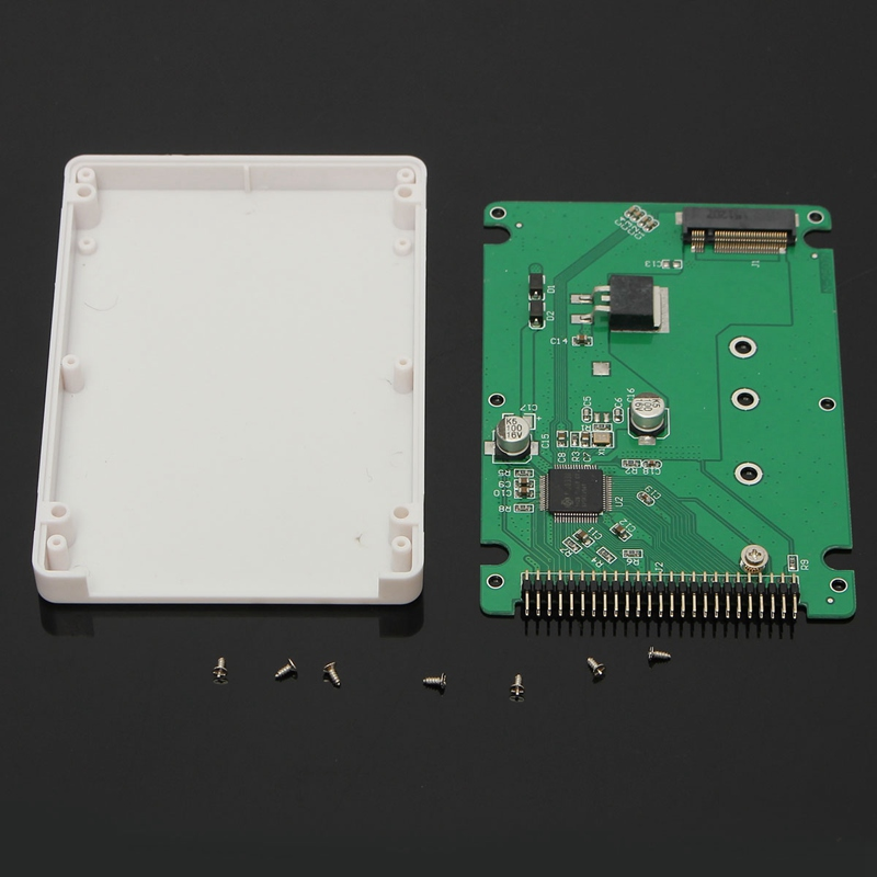 44 Pin M.2 NGFF SATA SSD to 2.5 IDE SATA SSD Converter SATA Adapter Card IDE Adaptor Convertor B+M Key boegli m 44