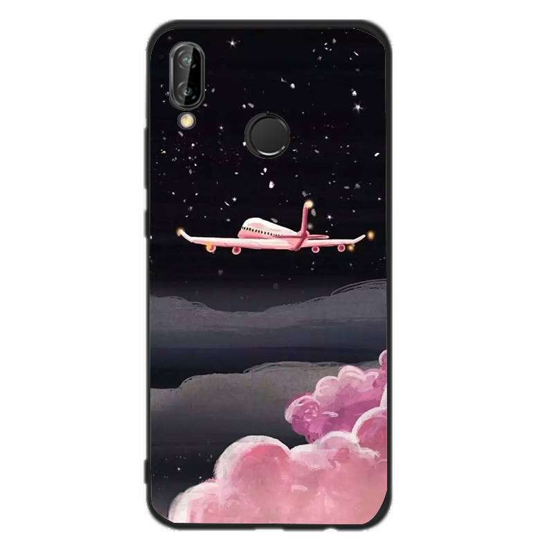 Soft Phone Case For P20 Lite Cover For Huawei P10 P9 P8 Lite mini 2017 Mate 10 Lite P Smart Case Patterned Back Cover Shell in Fitted Cases from Cellphones Telecommunications