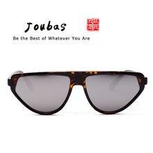 7987d1429 Joubas فريد النظارات الشمسية النساء/الرجال 2018 شقة أعلى القوس نظارات شمسية  الأصفر الأرجواني مرآة نظارات للجنسين شخصية بارد 63