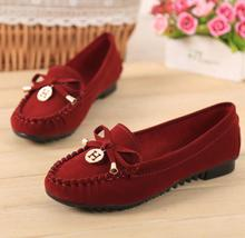 2017 fashion bowknot spring women ballet flats shoes ladies shoes slip on flats women Moccasins flat shoes women loafers
