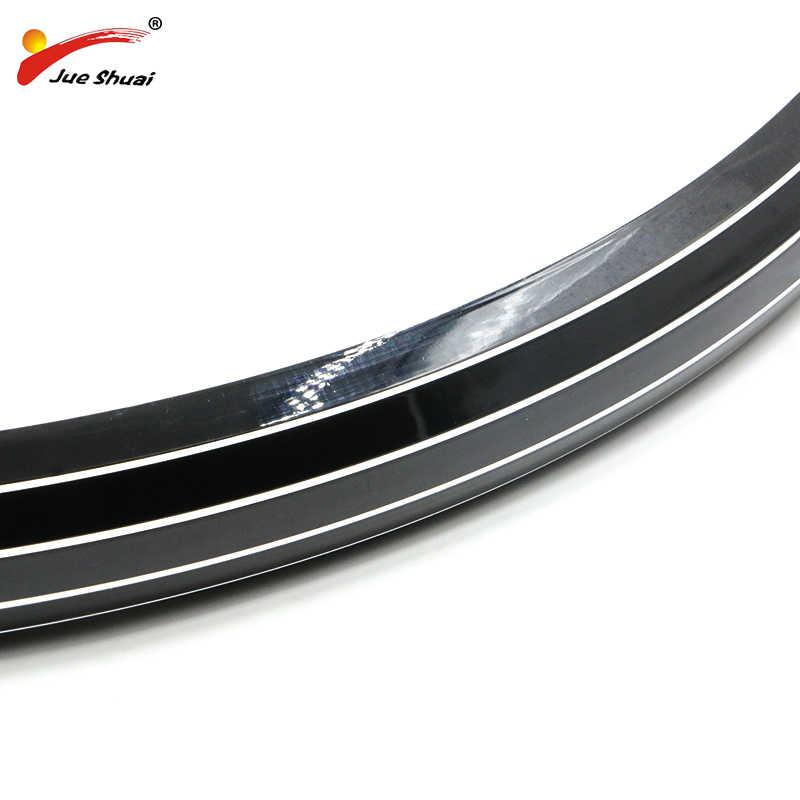 """20 """"24"""" 26 """"700C noir argent ailes de vélo mémorisation Plast vélo garde-boue électrique tricycle moteur roue électrique vélo kit"""