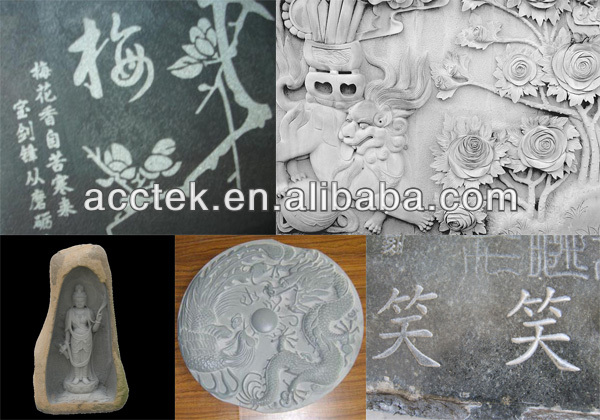 Cheap mini stone cnc router / 6090 cnc stone engraving / marble engraver cnc  цены