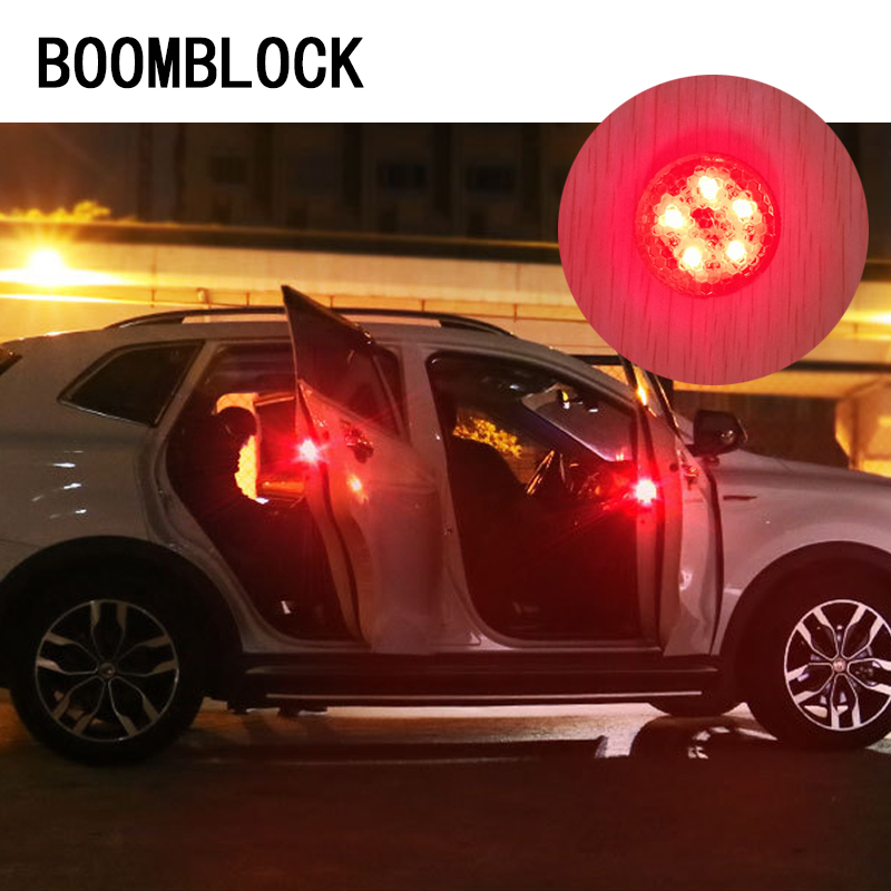Auto Car-styling Stickers For <font><b>VW</b></font> Passat B6 Touran T5 Bora <font><b>T4</b></font> Jetta Skoda Octavia A5 2 Fabia Yeti Strobe Warming <font><b>Lights</b></font> 5 LED image