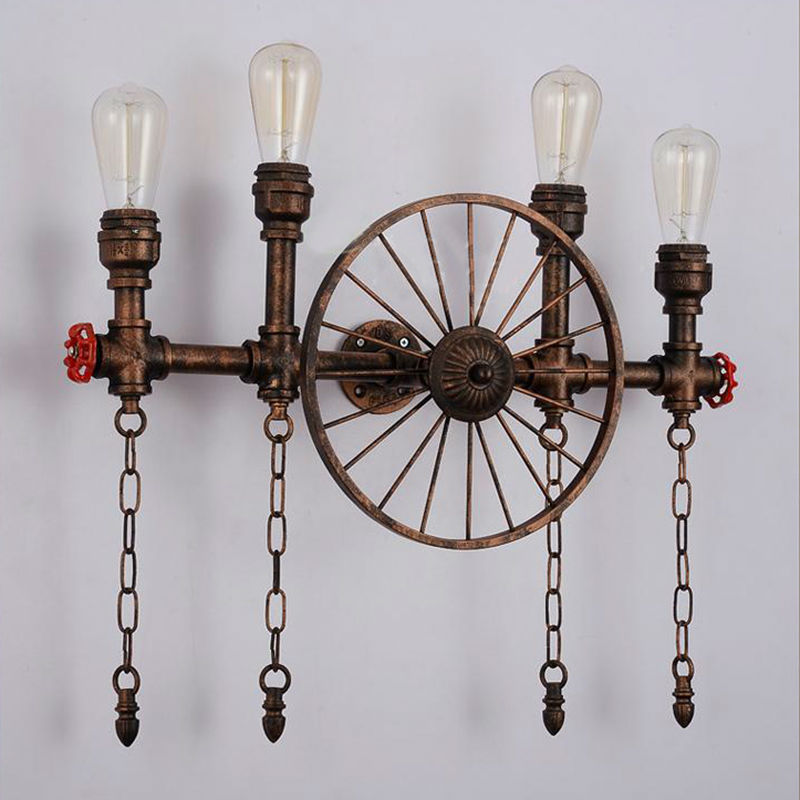 Water Pipe Wall Lamps 16