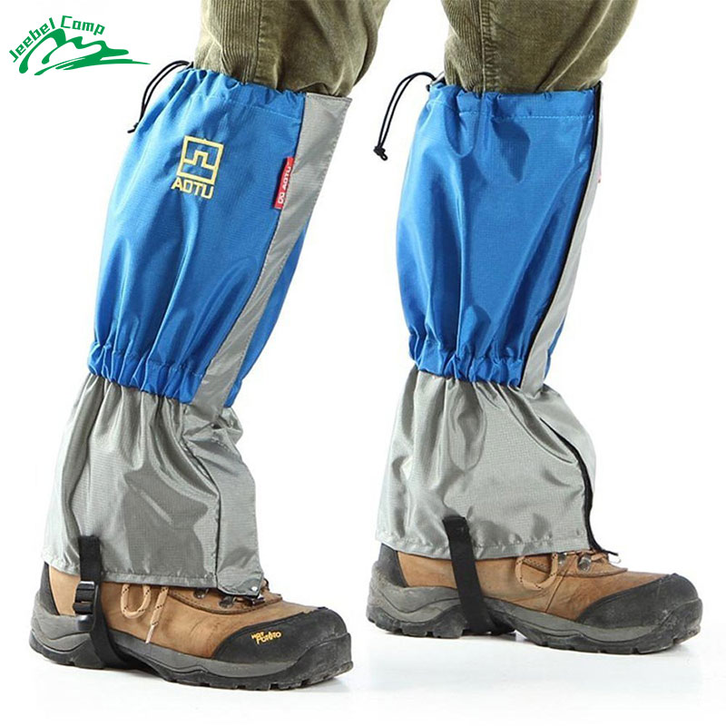 Jeebel Outdoor Waterproof Windproof Gaiters Leg Protection Guard Skiing Hiking Climbing Mountaineering Travel Kits