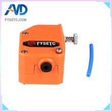 Новая коллекция, оранжевый цвет обновления BMG экструдер клонирован Btech экструдер Bowden в Dual Drive экструдер для Wanhao D9 Creality CR10 Эндер 3 Anet E10