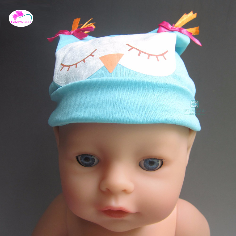 Fashion blue hat  Fit 43cm Zapf Baby Born Christmas Gift Doll Accessories рубашка insight bayou born diy oldy beaten blue