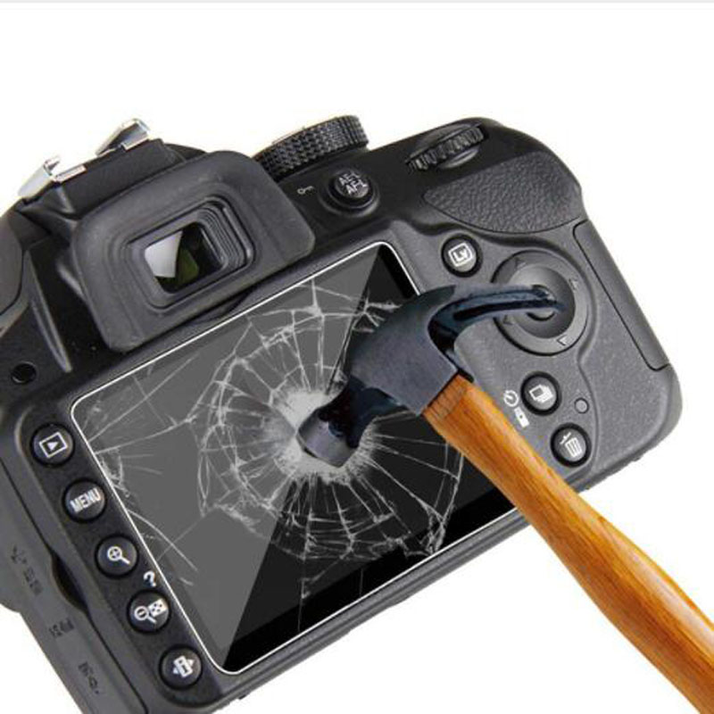 Image 2 - Tempered Glass Protector Guard for Canon EOS 200D Rebel SL2 / Kiss X9 Camera LCD Display Screen Cover Protective Film Protection-in Camera LCD Screen from Consumer Electronics