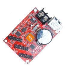 5 pcs/lot HD-U6B USB-Disk Huidu LED Display Control Card , P10 Single Color LED Display Controller with 3 x HUB12 Ports