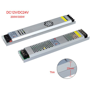 Image 2 - Ultra Dunne Led Voeding DC12V 5V 24V 200W 300W Led Driver AC190 240V Verlichting Transformers Voor led Strip Licht