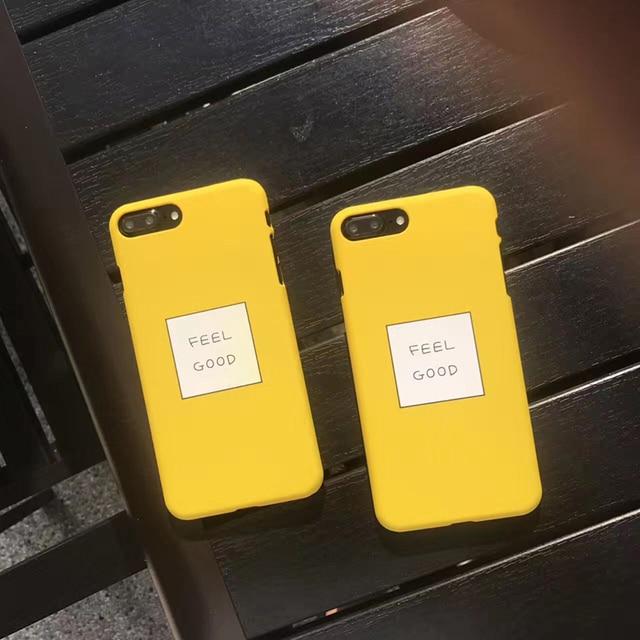 apple yellow iphone 7 case