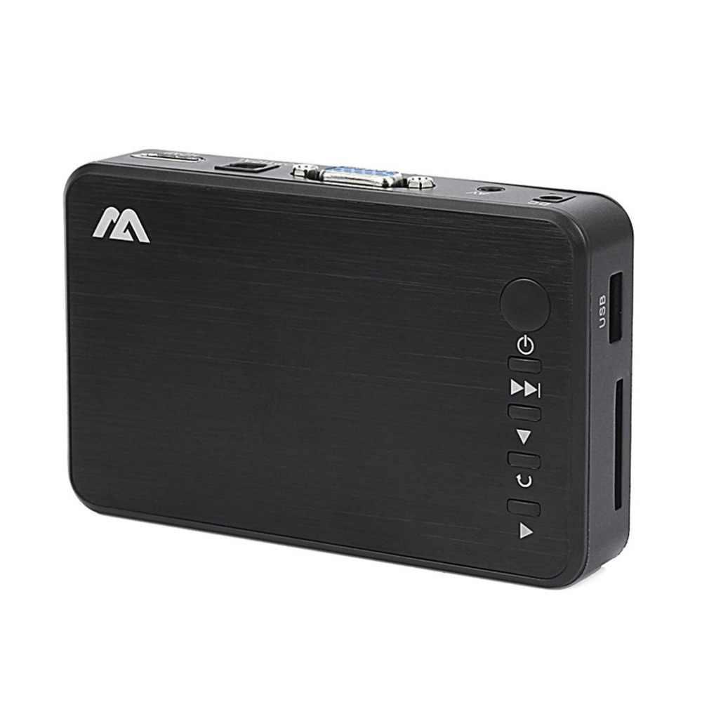Odtwarzacz Full HD Mini autoodtwarzania Full HD 1920x1080 HDMI VGA AV USB dysk twardy dysk U SD/SDHC/ MMC najpóźniej F10 ExternalPlayer