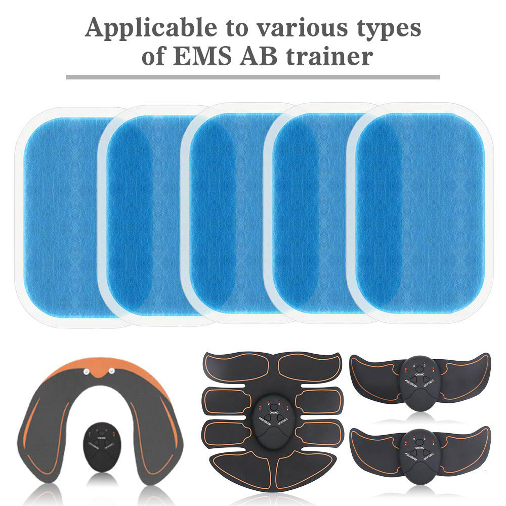 14Pcs  Replacement Gel Pads Sheet Abdominal Belt Toning Muscle Toner ABS Stimulator Hydrogel Pads Sticker AB Trainer Accessories (2)