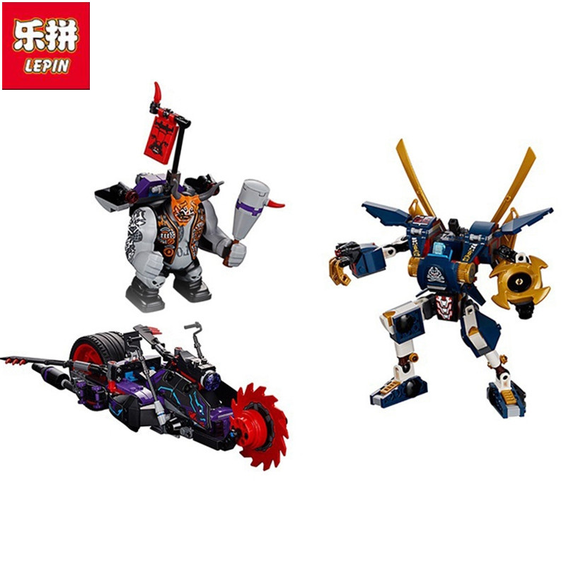 2018 New ninja killow vs samurai X building block jay figures mecha motorcycle bricks 70642 toys for children gifts lepin 663pcs ninja killow vs samurai x mech oni chopper robots 06077 building blocks assemble toys bricks compatible with 70642