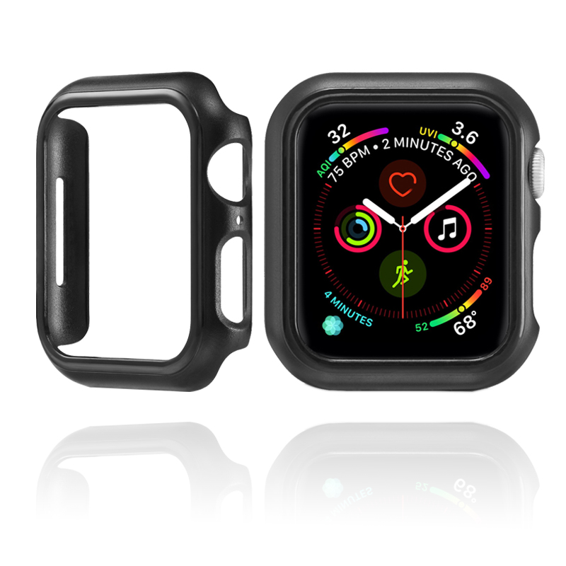 Watch Case For Apple Watch 4 Protective Shell For iwatch bands 44mm 40mm Fall Resistance Bumper Frame Cover watches Accessories