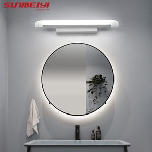 Image 3 - Moderne Acryl Led Spiegel Licht Badkamer Make Wandlampen Led Vanity Wc Wandmontage Schansen Verlichting Armatuur