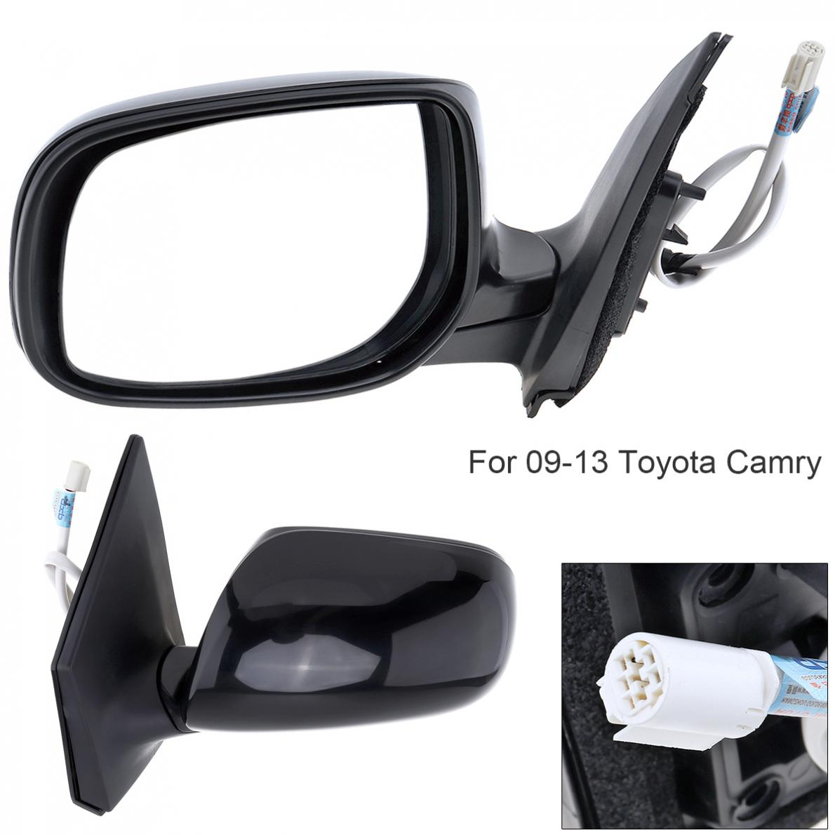 Non-Folding Durable Car Vehicle Left Side Rear View Mirror Left Hand LH Rearview Mirror for 09-13 Toyota Corolla