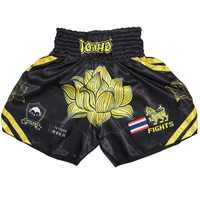 ROLLHO Lotus pantalones cortos mma boxeo bañadores pantalón corto para boxeo muay thai mma pantalones de las mujeres de los hombres de muay thai mma pantalones de boxeo tailandés de kickboxing