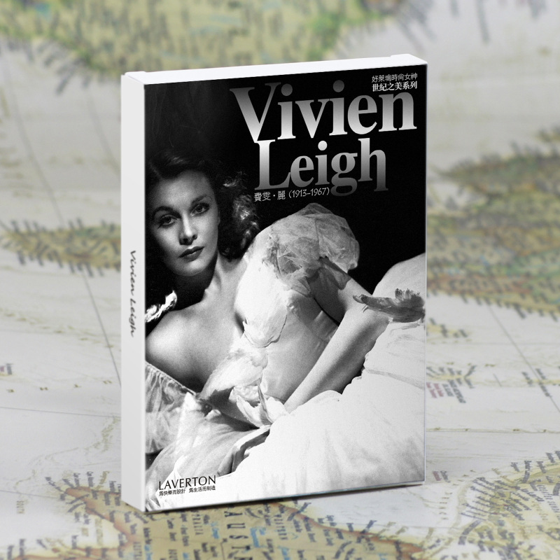 30pcs in one, Postcard,Vivien Leigh,Hollywood goddess,Christmas Postcards Greeting Birthday Message Cards 10.2x14.2cm postcard christmas gift post card postcards chinese famous cities beautiful landscape greeting cards ansichtkaarten ningbo