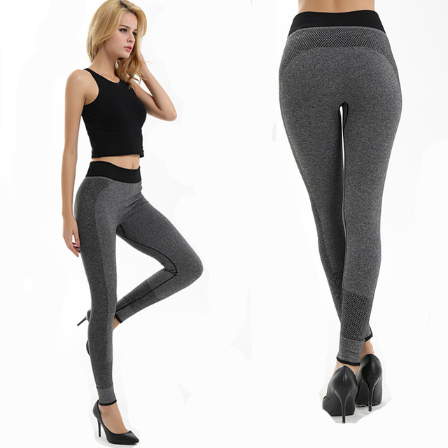Active Leggings Women Fitness Clothing for Women 2016  Workout Black Trousers Slim Women's Legging Pants Long  Autumn Wear  M L
