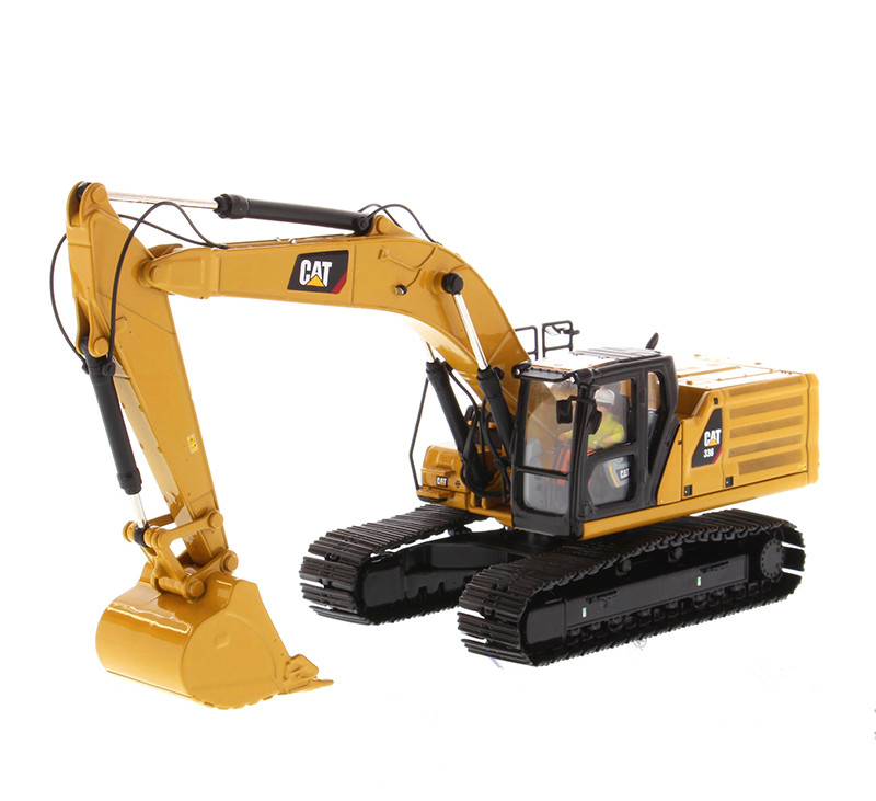New Collectible Diecast Toy Model Gift DM 1:50 Scale Caterpillar Cat 336 Hydraulic Excavator Engineering Machinery 85586