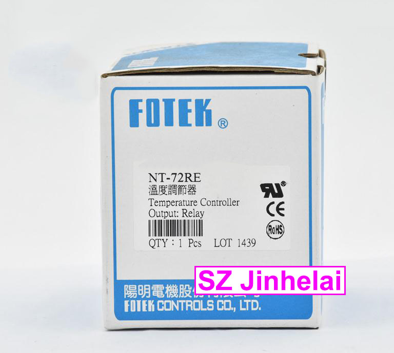 100% New and original FOTEK Temperature controller  NT-72RE (NT-72E) 100% new and original fotek photoelectric switch a3g 4mx mr 1 free power photo sensor