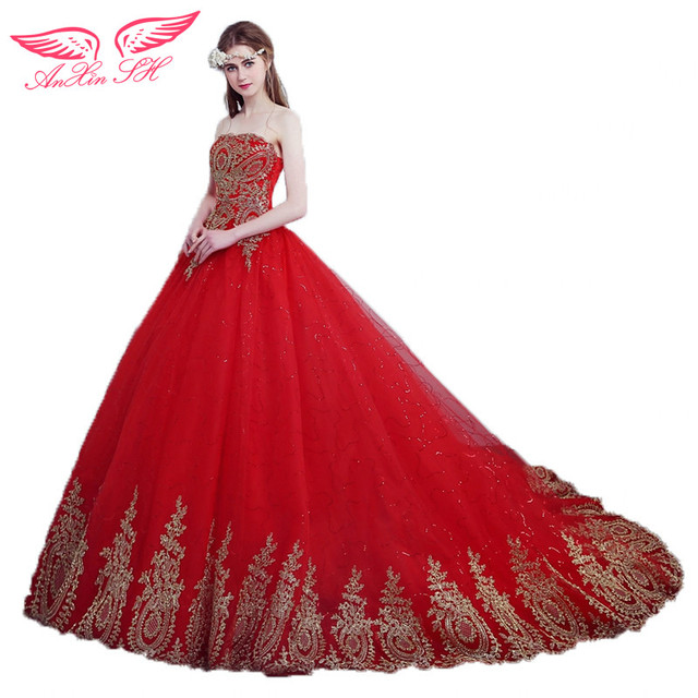 Aliexpress robe rouge dentelle