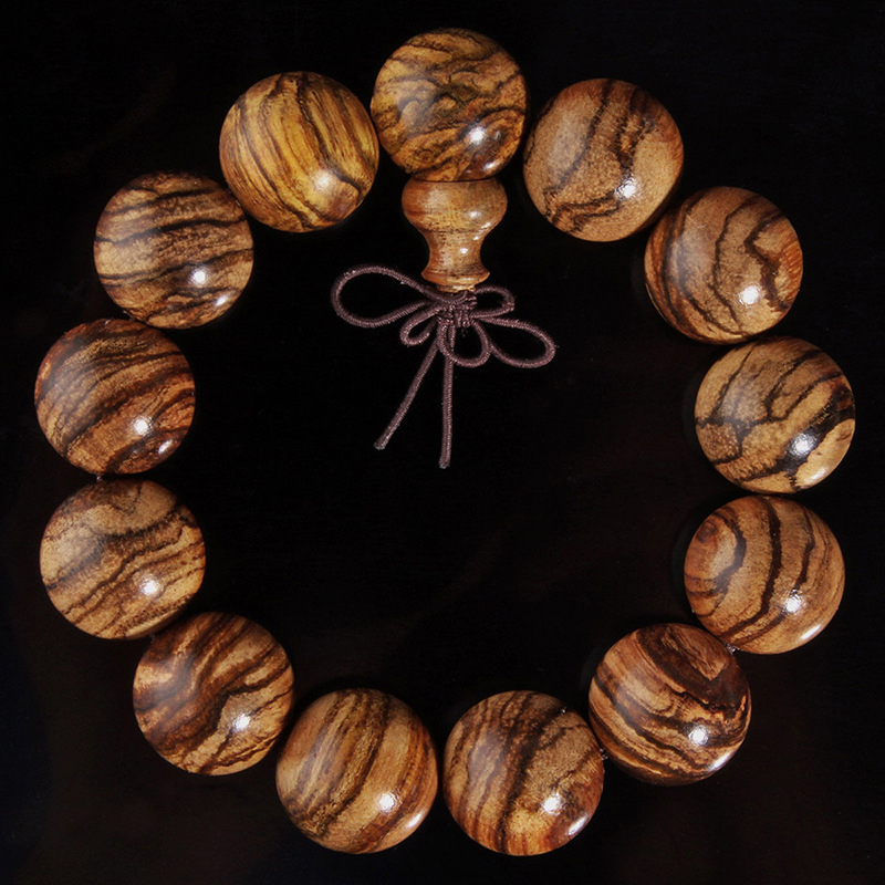 Authentic Vietnamese Agarwood Incense Fashion Prayer Beads Meditation Bracelets Men Jewelry Wood Wristband S0U67 P0.16