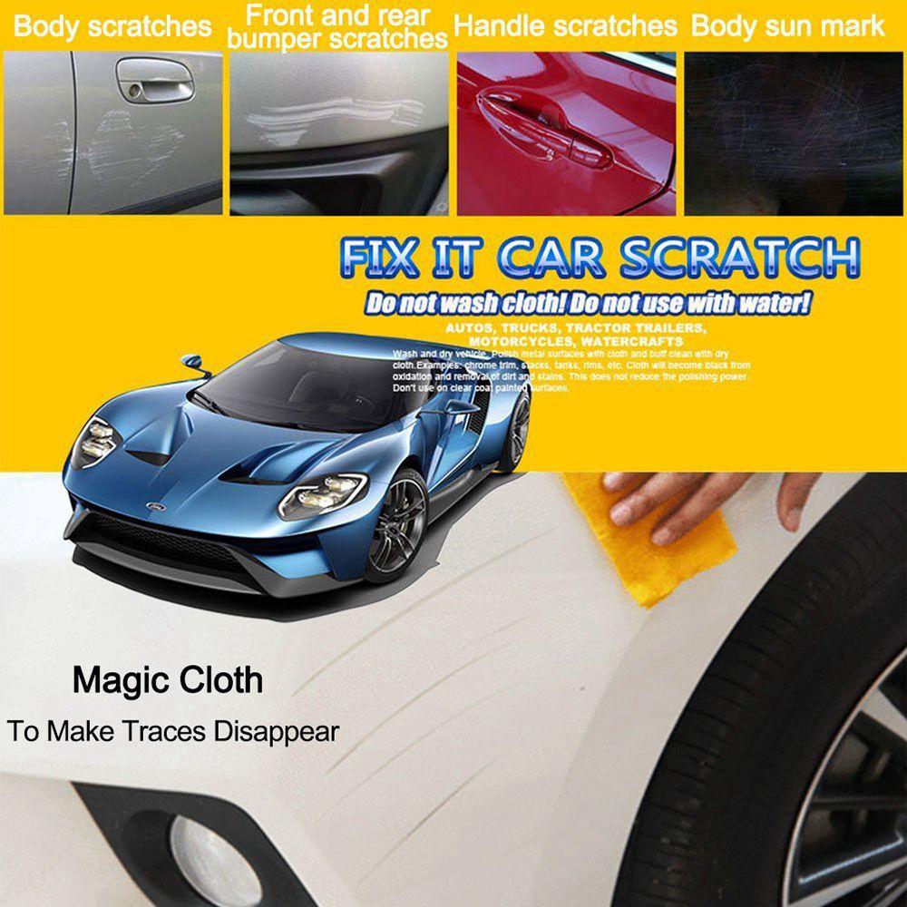 Magic Repair Remove Car Scratch Repair Cloth Paint Scratch