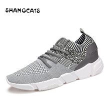 Trend 2018 Summer Socks Sneakers Men Breathable Casual Shoes Men Fashion Man Sneakers Super Comfortable Men's Shoes Without Lace