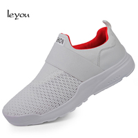 Men Sneakers Loafers Shoes Slip On Breathable Mesh Sport Shoes Casual Outdoor Walking Trainer Shoes Light Sneakers