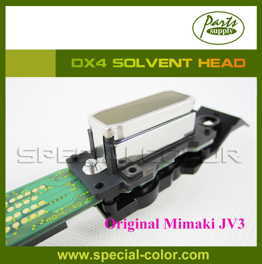 (2pcs DX4 Small Damper Free) for Epson DX4 Print Head Mimaki JV3 Roland RS/XJ/SC/SP/VP/XC/SJ/FJ540/640/740 solvent dx4 printhead mimaki jv3 mutoh roland xc fj vp rs sp sj xj sc 640 740 545 300 540 printer original dx4 print head