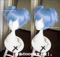 Anime Assassination Classroom Ansatsu Kyoushitsu Nagisa Shiota Cosplay Wig 2015 New Fashion Short Blue Synthetic Hair Wigs