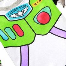 Cute Cartoon Themed Breathable Cotton Boy's Pajamas
