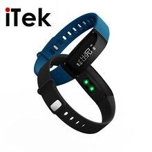 TK49 смарт-браслет сердечного ритма Мониторы Фитнес трекер smartband для телефона PK fit бит MI 2 испанский Приборы для измерения артериального давления браслет