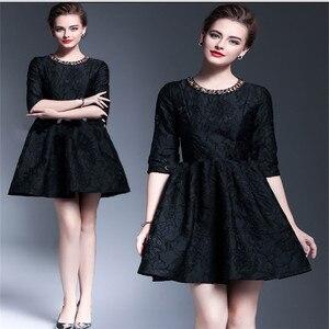 "Image 2 - 1Meter Wine Black  Jacquard Brocade Fabric Sewing On Clothing Dress Material Patchwork Diy ZAKKA Flower Fabrics  286G/M 53"""