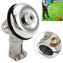 цена на 26mm 7 Teeth Dia Universal Strimmer Gearhead Gearbox Grass Brush Cutter Trimmer Replace Gear Head Garden Tool Accessories