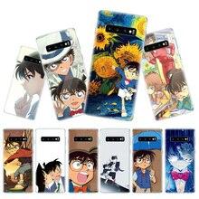 Anime Detective Conan Phone Case for Samsung Galaxy S10 Plus S10E Lite A50 A70 A30 A10 A20E M20 M10 A20 A80 A40 Cover