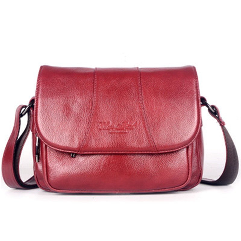 ALAVCHNV new original first layer of leather casual ladies small shoulder bag leather Messenger Bag 3910B