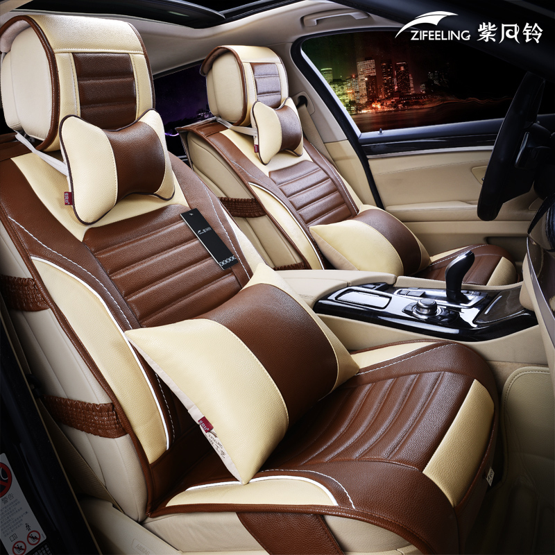 high quality leather car seat cover100 leather car covers five seats car universal car. Black Bedroom Furniture Sets. Home Design Ideas