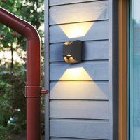 Garden Light led Wash Lights Outdoor Lighting Exterior Wall sconce Outdoor Wall Lamp Waterproof Outdoor Fence Lights Sconce