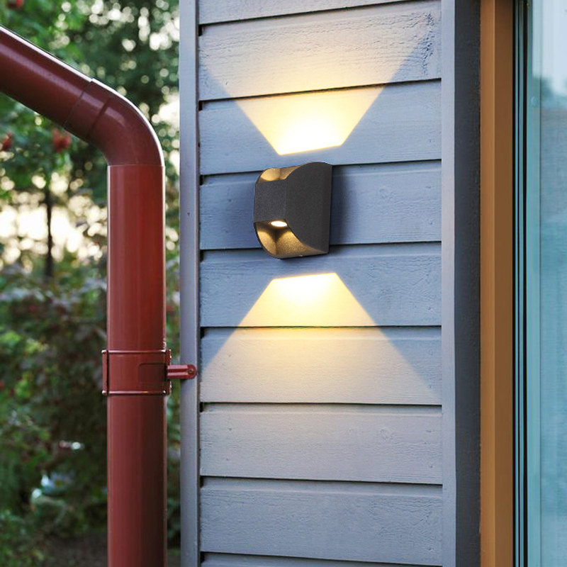 Garden Light led Wash Lights Outdoor Lighting Exterior Wall sconce Outdoor Wall Lamp Waterproof Outdoor Fence Lights Sconce exterior wall sconce garden fence outdoor lighting garden lamp waterproof outdoor light fixtures backyard lights balcony lamps