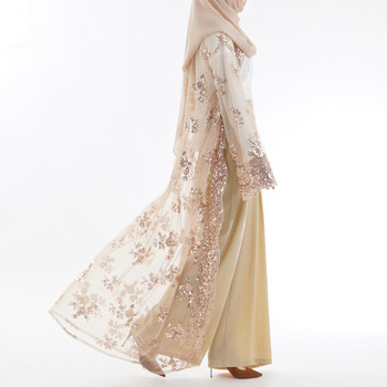 luxury High Class Sequins Abaya