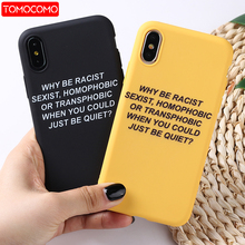 Lovely Cartoon Color Back Cover Funny Letter Quote Soft Phone Case Fundas